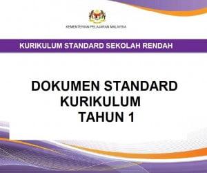 dokumen standard kurikulum tahun 1