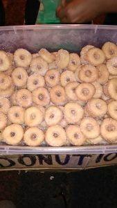 donut 10 sen