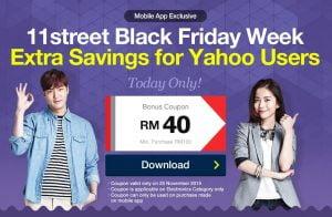 contoh tawaran di Black Friday