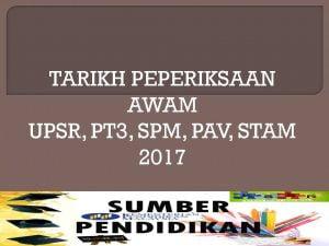 tarikh-peperiksaan-awam-2017