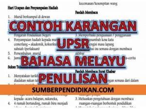 74 Contoh Karangan Upsr Bahasa Melayu Penulisan