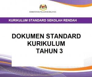 Dokumen Standard Kurikulum Dsk Tahun 3 Sumber Pendidikan