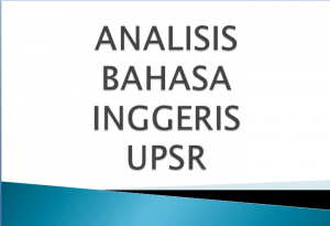 analisis bi upsr