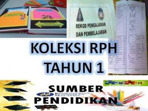 Rph Pendidikan Kesihatan Tahun 1 Sumber Pendidikan