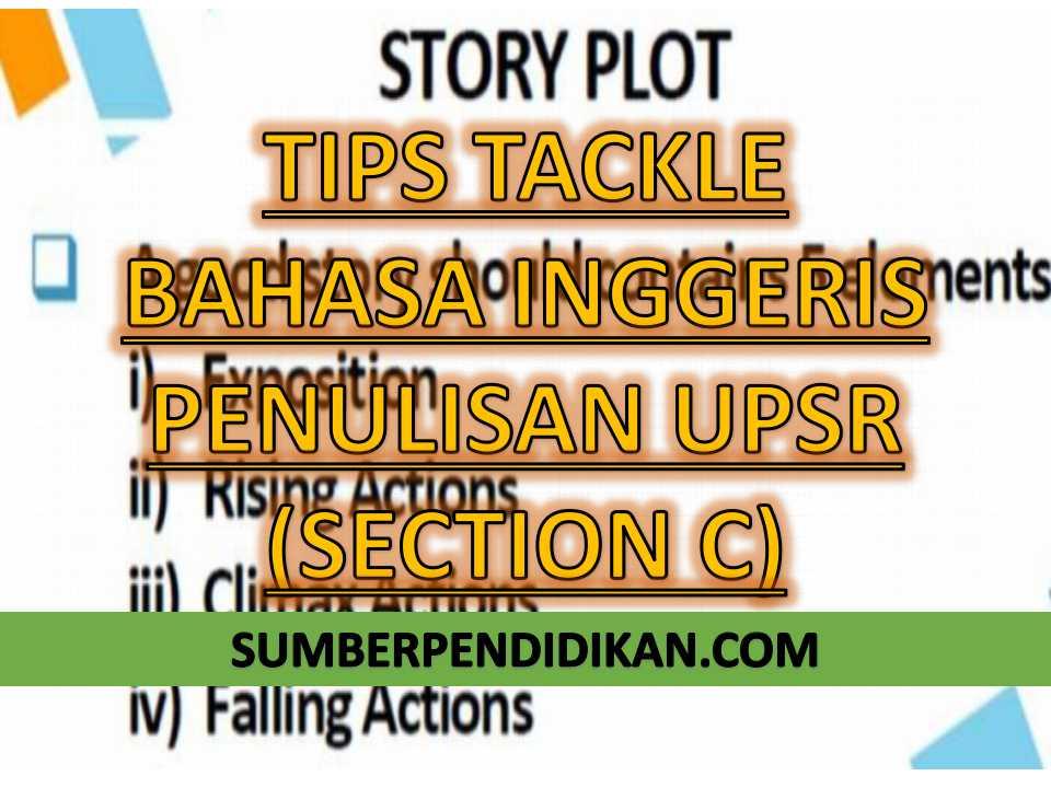 Tips nak tacke Bahasa Inggeris Penulisan UPSR Section C