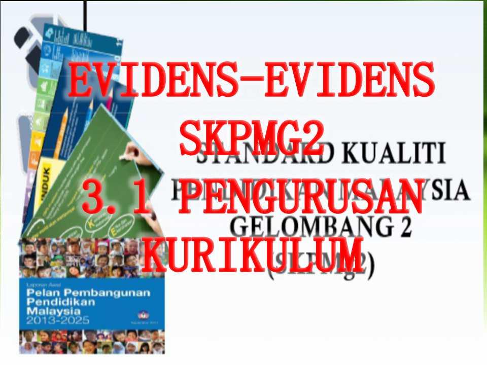 Evidens Skpmg2 Standard 3 2 Pengurusan Kokurikulum Sumber Pendidikan