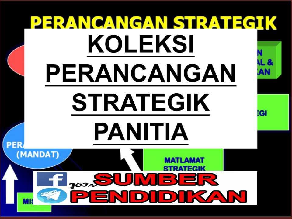 Koleksi Pelan Perancangan Strategik Panitia Sumber Pendidikan