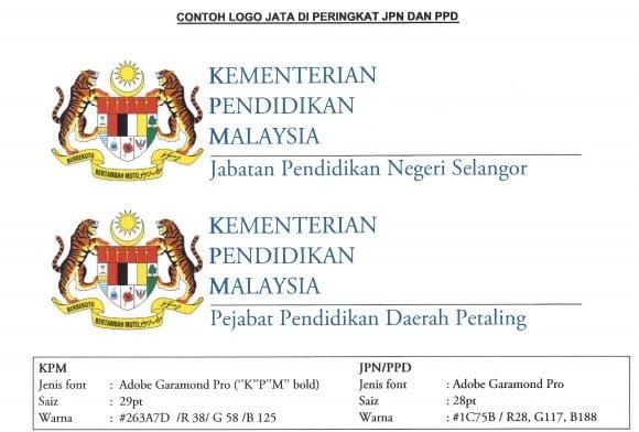 Penggunaan Logo Jata Negara Menggantikan Logo Kpm