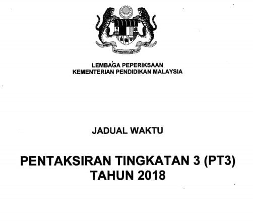 Semakan Keputusan Pt3 2019 Pentaksiran Tingkatan 3