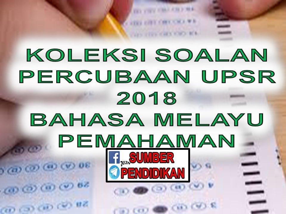 Soalan Upsr Bahasa Melayu Kunci Ujian